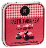 Saltlakrits & fruktpastiller - Pastillfabriken